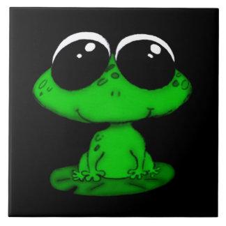 cute froggie tile