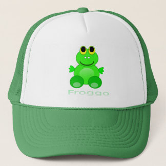Cute Froggo Frog Trucker Hat