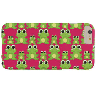 Cute frogs pattern barely there iPhone 6 plus case