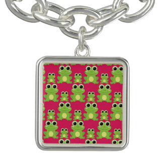 Cute frogs pattern bracelets