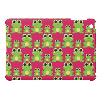 Cute frogs pattern case for the iPad mini