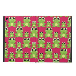 Cute frogs pattern iPad air cover