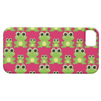 Cute frogs pattern iPhone 5 cases