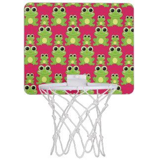 Cute frogs pattern mini basketball hoop