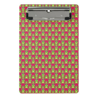 Cute frogs pattern mini clipboard