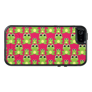 Cute frogs pattern OtterBox iPhone 5/5s/SE case