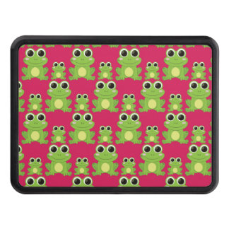 Cute frogs pattern trailer hitch cover