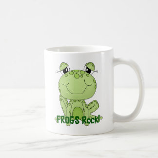 Cute Frogs Rock Love Frog Products Classic White Coffee Mug