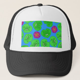 Cute frogs trucker hat