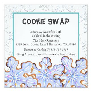 Cookie Exchange Invitations & Announcements | Zazzle Canada