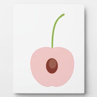 cute fruit design plaque