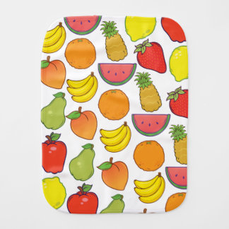 Cute Fruit Pattern Burp Cloth