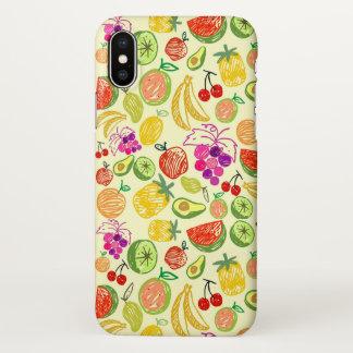 Cute Fruits Pattern iPhone Case