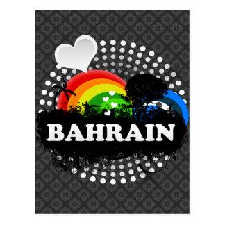 Cute Fruity Bahrain Postcard
