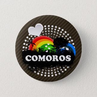 Cute Fruity Comoros 2 Inch Round Button