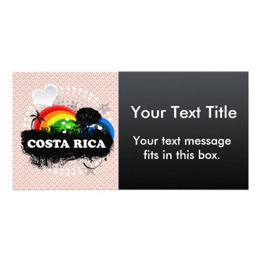 Cute Fruity Costa Rica Photo Cards