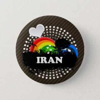 Cute Fruity Iran 2 Inch Round Button