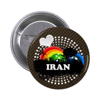 Cute Fruity Iran 2 Inch Round Button