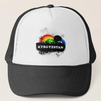 Cute Fruity Kyrgyzstan Trucker Hat
