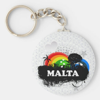 Cute Fruity Malta Keychain