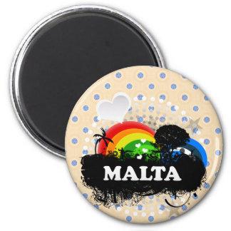Cute Fruity Malta Magnet