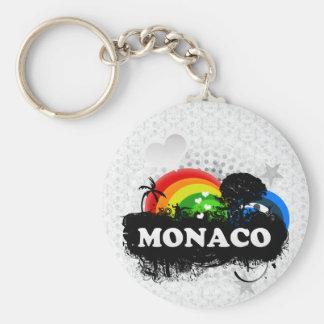Cute Fruity Monaco Keychain