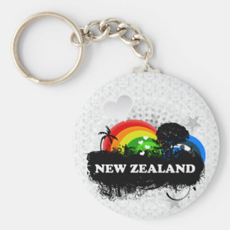 Cute Fruity New Zealand Keychain