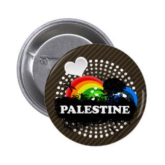 Cute Fruity Palestine 2 Inch Round Button