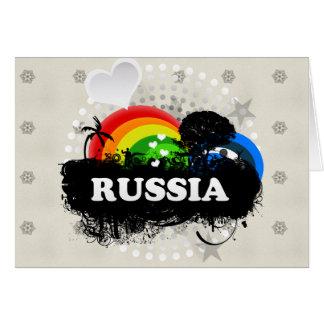 Cute Fruity Russia Card