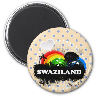 Cute Fruity Swaziland Magnet