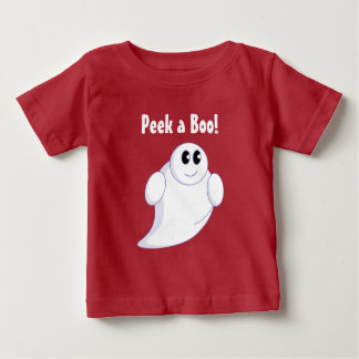 Cute fun cartoon of a Halloween ghost or ghoul, Baby T-Shirt