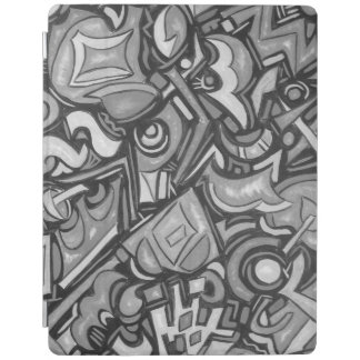 Cute Fun Funky Bold Whimsical Shapes iPad Cover