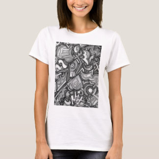 Cute Fun Funky  Bold Whimsical Shapes T-Shirt