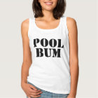 Cute Fun Summer Pool Bum Text Tank Top