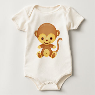 Cute Funky Monkey Baby grow  Baby Bodysuit