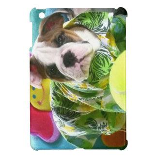 Cute Funny and Adorable English Bulldog Puppy Case For The iPad Mini