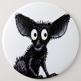 Cute Funny Aye-Aye 6 Inch Round Button