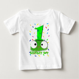 cute funny baby monster first birthday baby T-Shirt