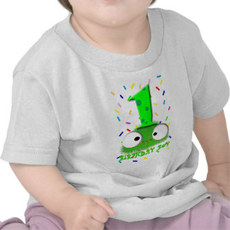 cute funny baby monster first birthday t shirt