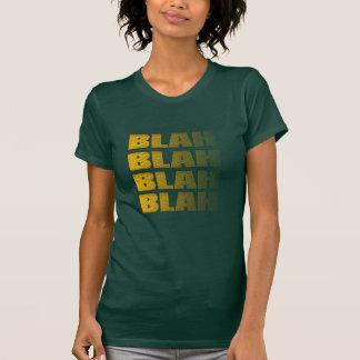 cute funny blah blah blah hipster t-shirt design