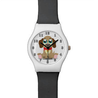Cute Funny Cartoon Dog Personalized Watch