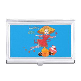Cute funny cartoon fairy business card cases