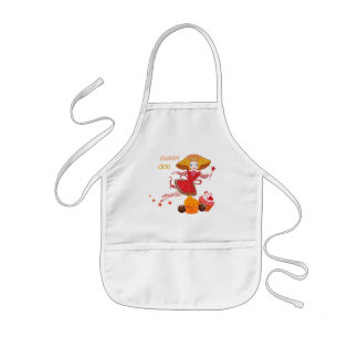 Cute funny cartoon fairy kids apron
