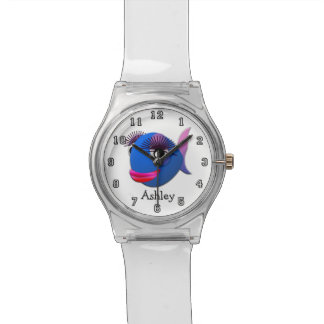 Cute Funny Cartoon Fish Personalized Watch
