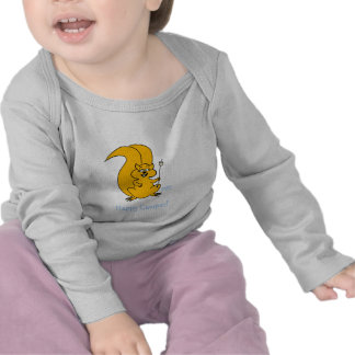 Cute Funny Cartoon Squirrel Infant Baby Clothing Tee Shirt