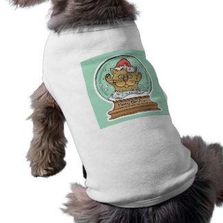 Cute Funny Christmas Cat pet clothing