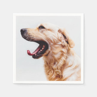 Cute & Funny Dog paper napkins