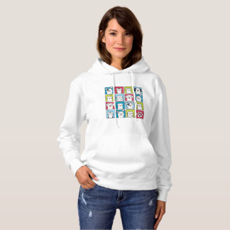 Cute, funny dogs & cats design hoodie