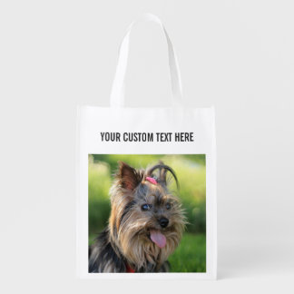 Cute & Funny Dogs custom reusable bag