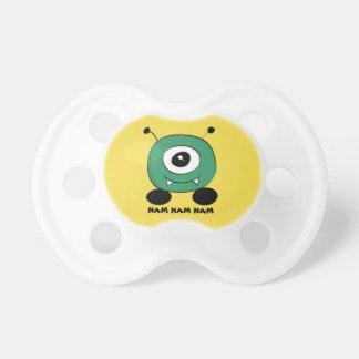 Cute Funny Green Alien Baby Pacifier
